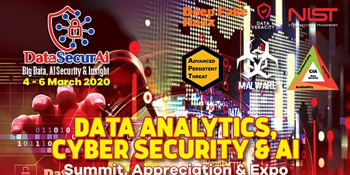 DataSecurAi 2020: Big Data, Fintech, Cloud, AI & Cyber Security  Summit