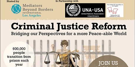 Criminal Justice Reform Panel Discussion tickets