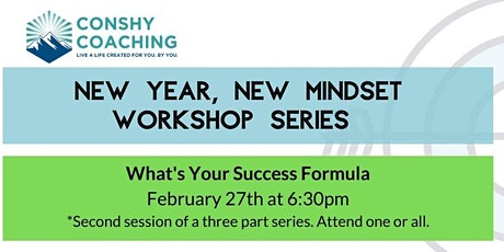 What's Your Success Formula Workshop tickets