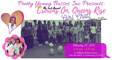 2nd Annual Queens Rise, Crowns On Girl Chat: Pajama Edition tickets