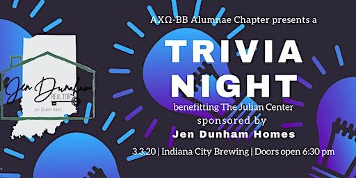 Trivia Night benefiting the Julian Center