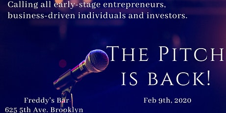 The Pitch - Earlystage Startup Pitch Competition tickets