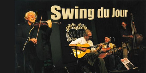"""Swing du Jour""  Gypsy JazZ  7pm Thu Apr 16  Music of Reinhardt & Grappelli"
