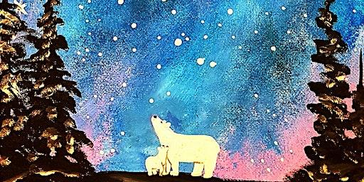Paint Polar Love at Edith & Arthur in Surrey