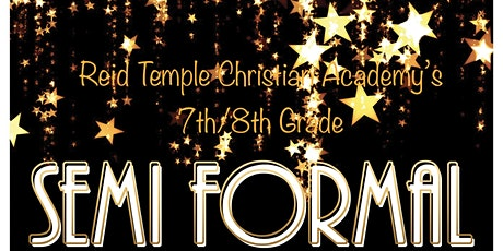 RTCA-PTSA: 7th/8th Grade Semi Formal: Spirit of Washington tickets