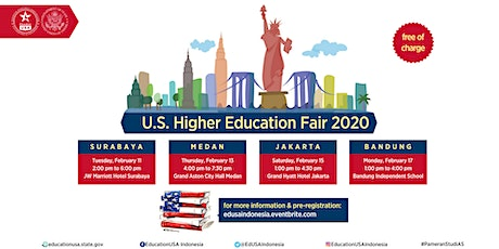 U.S. Higher Education Fair 2020 (Jakarta) tickets