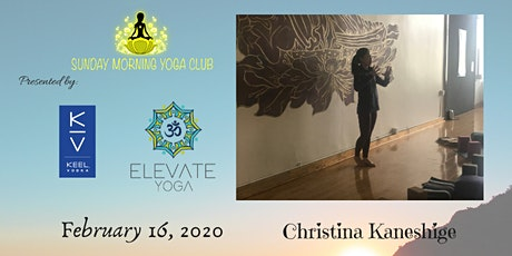 SMYC 2/16 with Elevate Yoga!  Christina Kaneshige  is Teaching!  tickets