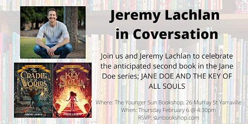 Jeremy Lachlan in Conversation