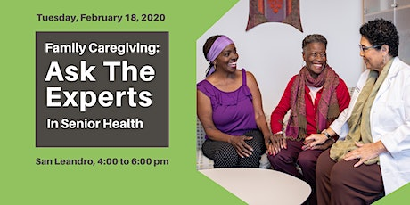 Family Caregiving: Ask the Experts tickets