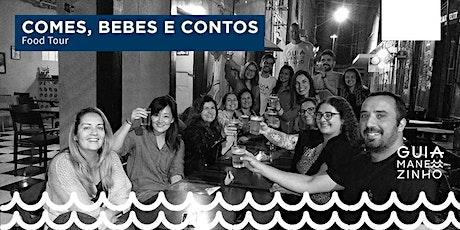 Guia Manezinho Food Tour: Comes, Bebes e Contos ingressos