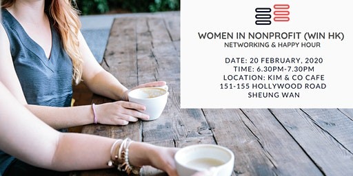 Women in Nonprofit (WIN HK) Networking & Happy Hour