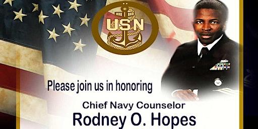 Chief Rodney Hopes Retirement Ceremony
