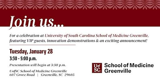 UofSC School of Medicine Greenville Celebration