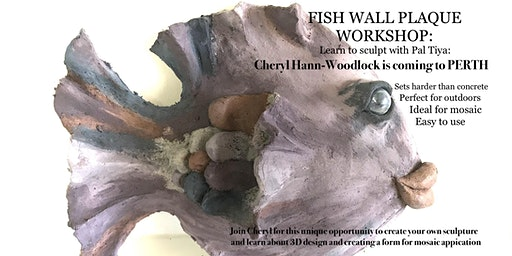 Fish Wall Plaque: with Pal Tiya
