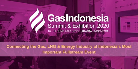Gas Indonesia Summit & Exhibition 2020 tickets