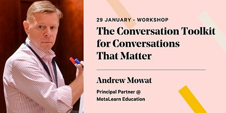 The Conversation Toolkit for Conversations That Matter tickets