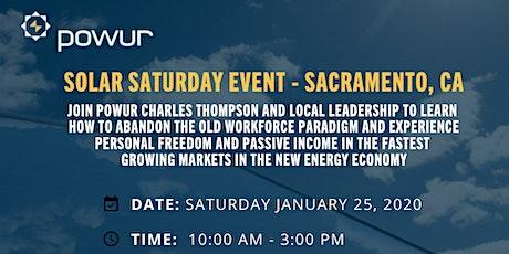 Solar Saturday Training Event - Sacramento, CA tickets