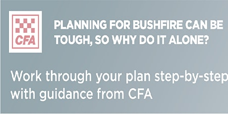 Coldstream CFA Seasonal Update and Bushfire Planning Workshop tickets