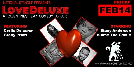 Love Deluxe-A Valentine's Day Comedy Show tickets