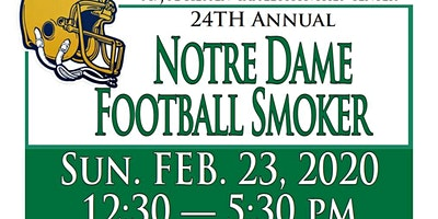 2020 Notre Dame Football Smoker