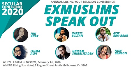 Losing your religion: Ex-Muslims Speak Out tickets