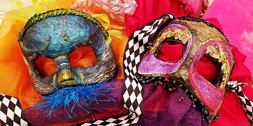 Make a MASK for MARDI GRAS!