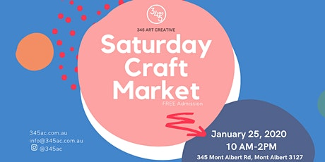Saturday Craft Market tickets
