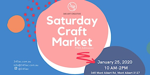 Saturday Craft Market