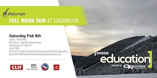 VT SheJumps Full Moon Skin at Sugarbush