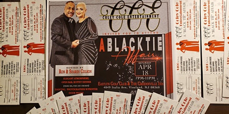 "COLEY COLE ENTERTAINMENT- 2nd annual ""A BLACK TIE AFFAIR "" tickets"