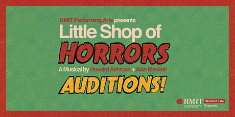 Little Shop of Horrors Auditions tickets