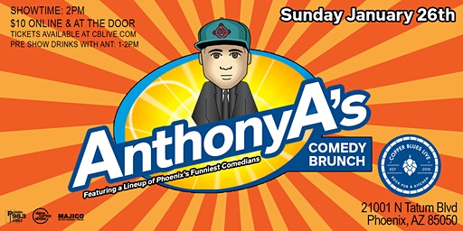 ANTHONY A'S COMEDY BRUNCH