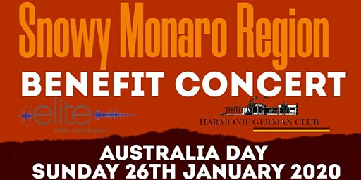 Snowy Monaro Region Benefit Concert