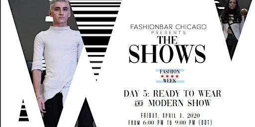 Day 5 THE SHOWS presented by FashionBar:  F/W 2020 Modern Minimalist & Ready to Wear
