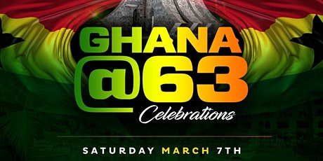 LA Celebrates GHANA@63 - Ghanaian Independence Celebration 2020 tickets