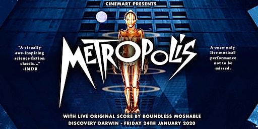 Cinemart presents METROPOLIS with live original soundtrack performance