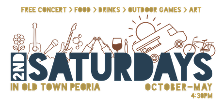 Peoria's 2nd Saturdays -Spring Harvest Pop Up Restaurant by Chef Amy tickets