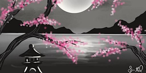 Cherry Blossom Paint n Sip