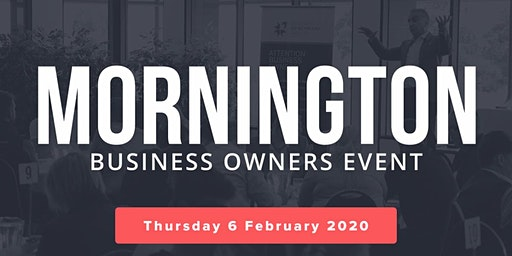 Mornington Free Business Owners Event