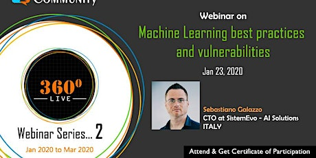 Machine Learning best practices and vulnerabilities tickets