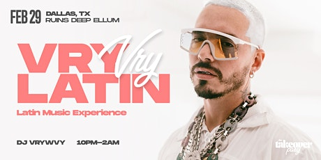 VRYLATIN : Latin Music Experience - DALLAS tickets