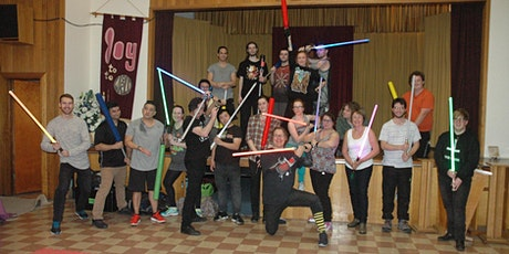 Come and try Laser sword and dual weilding! tickets