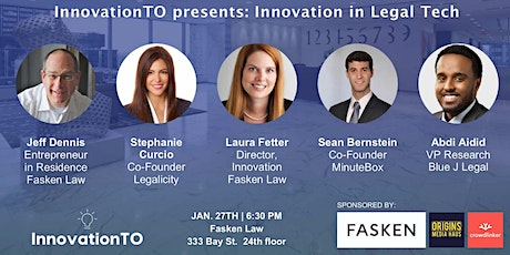 InnovationTO presents: Innovation in LegalTech tickets