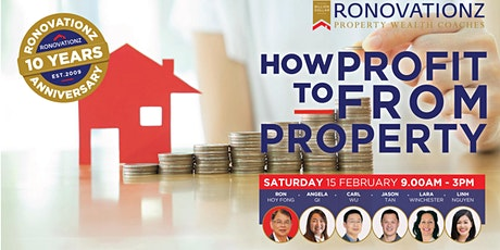 Ronovationz Presents: How To Profit From Property tickets