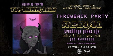 TRASHBAGS x TUFFEM UP! Throwback Party tickets
