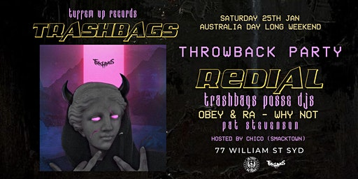 TRASHBAGS x TUFFEM UP! Throwback Party