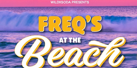 freqs at the beach with Dan Aux at the Smoky Pallet Whangamata