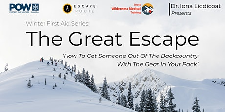 The Great Escape: Squamish Episode tickets