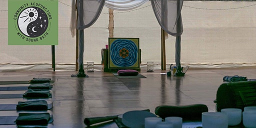 Community Acupuncture and Sound Bath - 3.30pm Sunday the 2nd February 2020