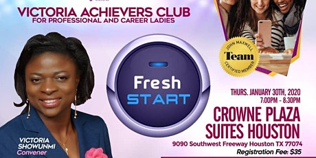 Victoria Achievers Club for Professional and Career Ladies tickets